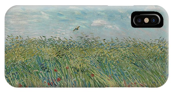 Van Gogh Museum iPhone Case - Wheatfield With Partridge by Vincent Van Gogh
