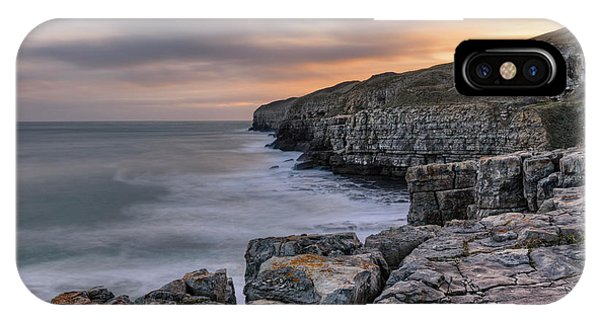 Swanage iPhone Case - Winspit Quarry - England by Joana Kruse