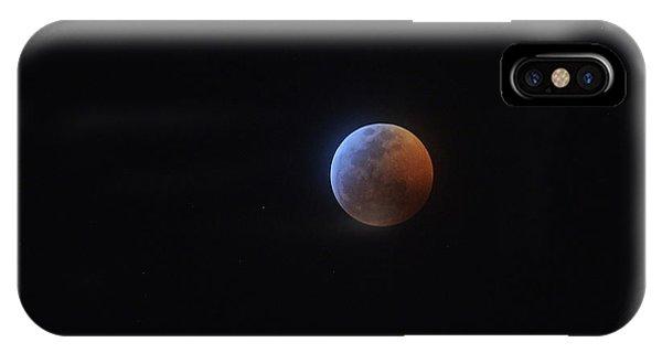 2019 Lunar Eclipse IPhone Case