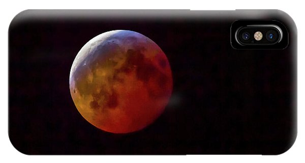 2019 Super Blood Wolf Moon IPhone Case