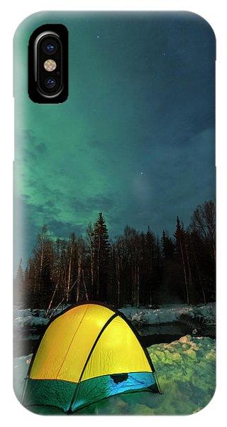Aurora Borealis, Northern Lights Phone Case by Stuart Westmorland
