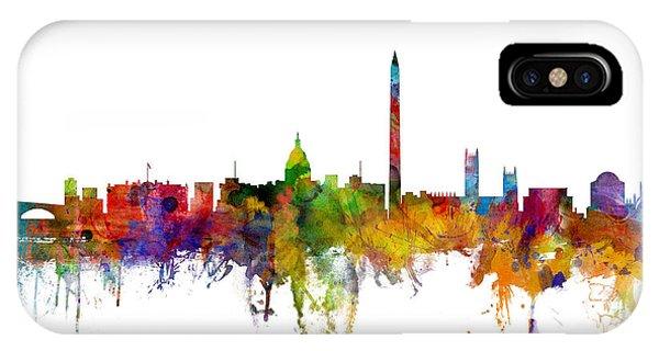 Washington Dc Skyline IPhone Case