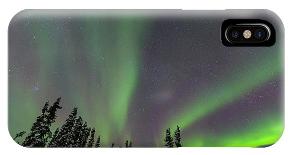 Aurora Borealis, Northern Lights Phone Case by Stuart Westmorland