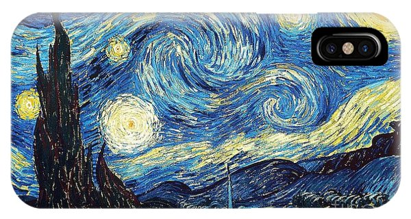 Starry Night By Van Gogh IPhone Case
