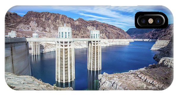 IPhone Case featuring the photograph Wandering Around Hoover Dam On Lake Mead In Nevada And Arizona by Alex Grichenko