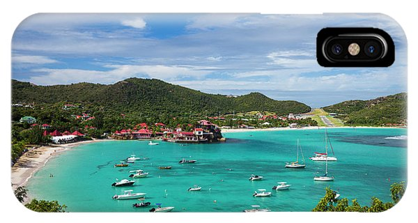 French West Indies, St-barthelemy Phone Case by Walter Bibikow