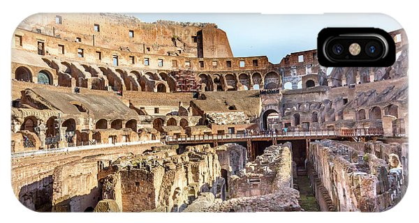 Colosseum, Rome, Italy Phone Case by William Perry