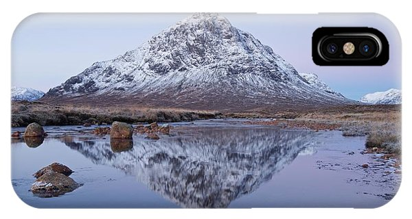 IPhone Case featuring the photograph Dawn In Glencoe by Stephen Taylor