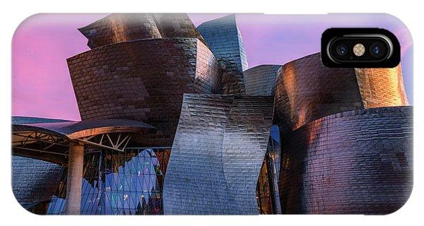 Gehry iPhone Case - Guggenheim Museum - Bilbao, Spain by Joana Kruse