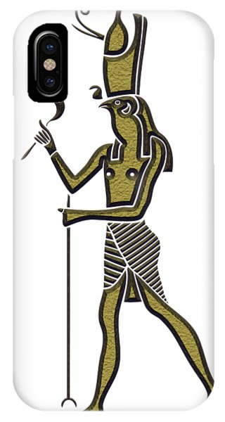 iPhone Case - Horus - God Of Ancient Egypt by Michal Boubin