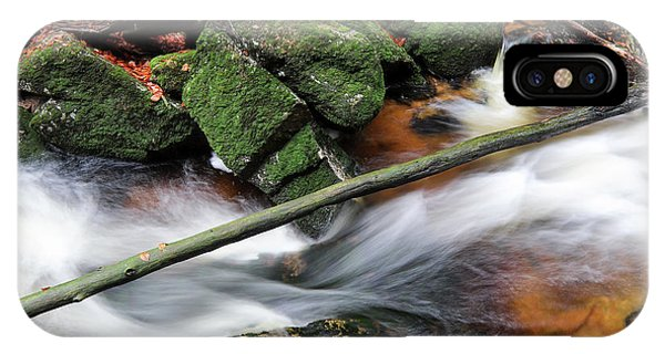 iPhone Case - Stream In The Autumn Forest by Michal Boubin