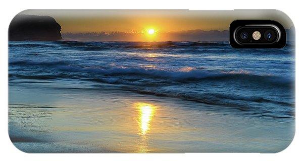 Sunrise Lights Up The Sea IPhone Case