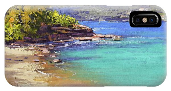 Manly iPhone Case - Sydney Harbour Beach by Graham Gercken