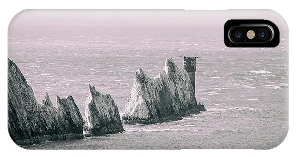 Navigation iPhone Case - The Needles by Martin Newman