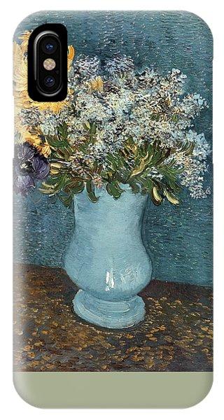 Van Gogh Museum iPhone Case - Vase Of Flowers by Vincent van Gogh
