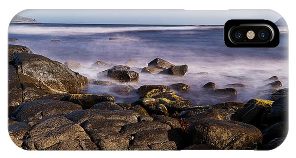 IPhone Case featuring the photograph View Of Cloudy Bay In Bruny Island, Tasmania, Australia. by Rob D