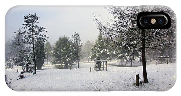 30/01/19  Rivington. Memorial Arboretum. IPhone Case