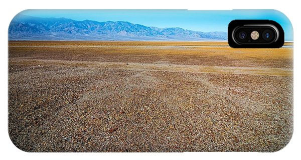 IPhone Case featuring the photograph Death Valley National Park Scenes In California by Alex Grichenko