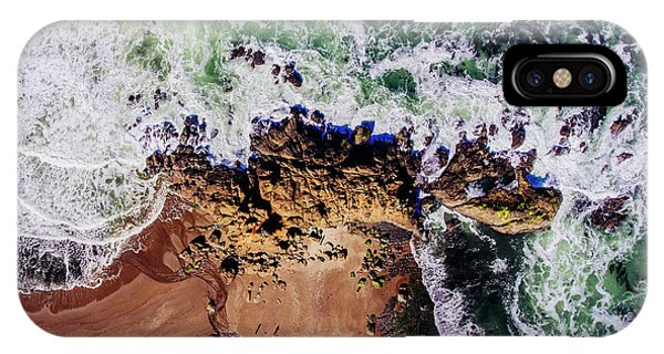 iPhone Case - Aerial View Of The Beach, Newport by Panoramic Images