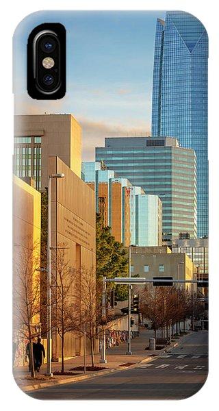 Ok iPhone Case - Downtown Okc by Ricky Barnard