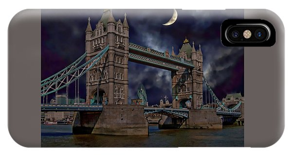 London Tower Bridge IPhone Case