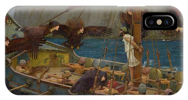 Cunning iPhone X Case - Ulysses And The Sirens by John William Waterhouse