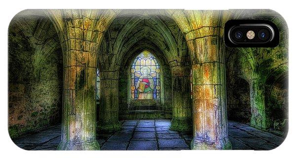 Valle Crucis Abbey IPhone Case