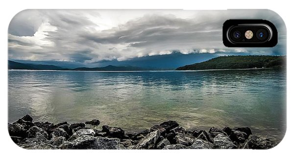 IPhone Case featuring the photograph Scenery Around Lake Jocasse Gorge by Alex Grichenko