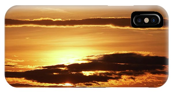 iPhone Case - Clouds At Sunset by Michal Boubin