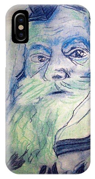 Lubavitcher Rebbe Phone Case by Miriam haya Elbaz