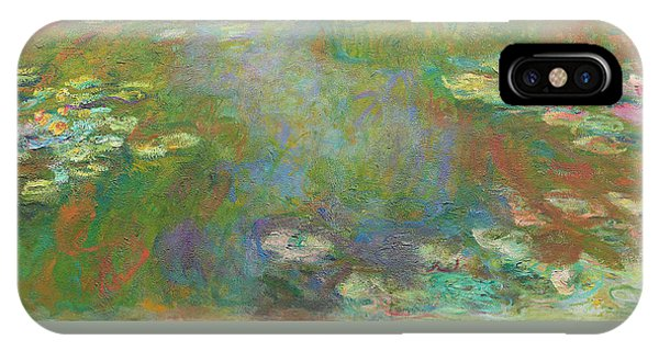 IPhone Case featuring the digital art Water Lily Pond by Claude Monet