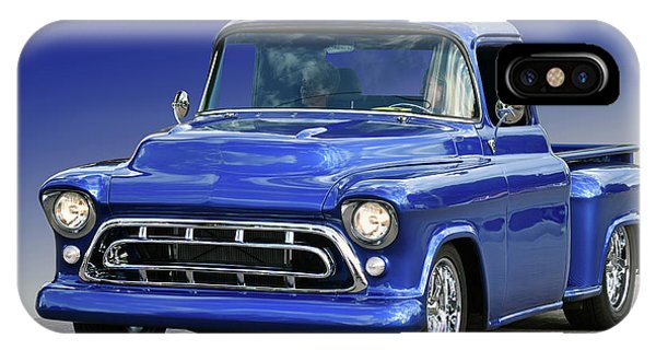 57 Chevy Pickup IPhone Case