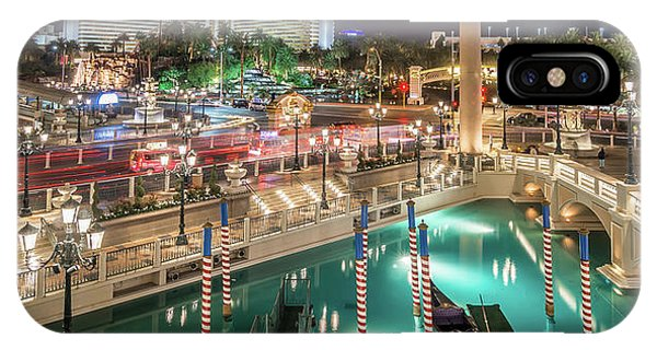 View Of The Venetian Hotel Resort And Casino IPhone Case