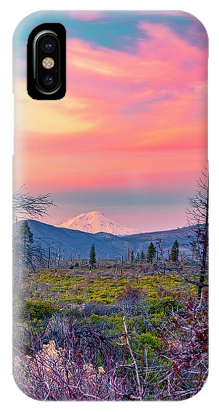 60 Miles To Mount Shasta IPhone Case