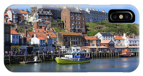 England, North Yorkshire, Whitby Phone Case by Emily Wilson