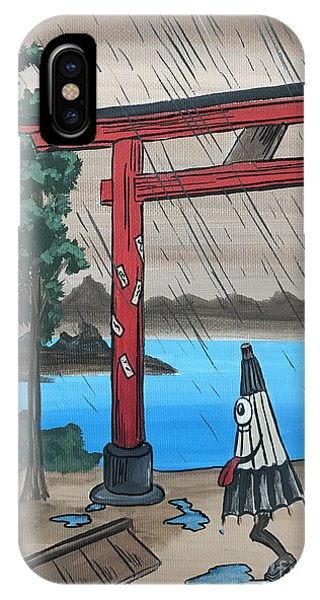 Odaiba iPhone Case - Traditional Japanese Inspired Art  by Kilaarts By Kimberly
