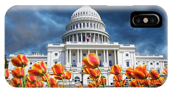 Capitol Building iPhone Case - Usa, Washington Dc by Jaynes Gallery