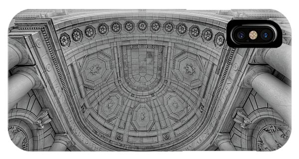 Department Of The Army iPhone Case - Arlington National Cemetery Memorial Amphitheater by Craig Fildes