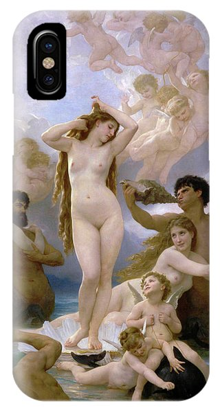 Venus Williams iPhone Case - The Birth Of Venus by William-Adolphe Bouguereau
