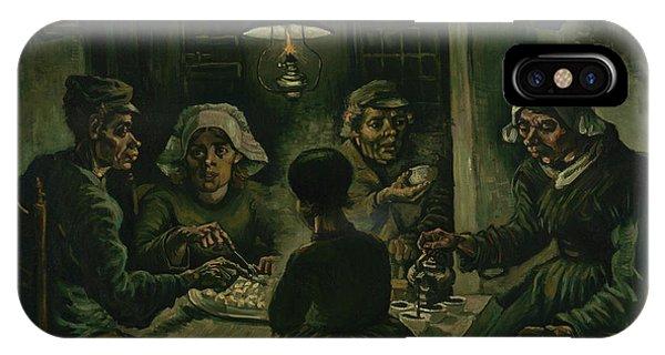 Van Gogh Museum iPhone Case - The Potato Eaters by Vincent Van Gogh