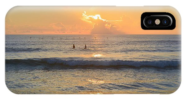 IPhone Case featuring the photograph 9/3/18 Kitty Hawk Sunrise by Barbara Ann Bell