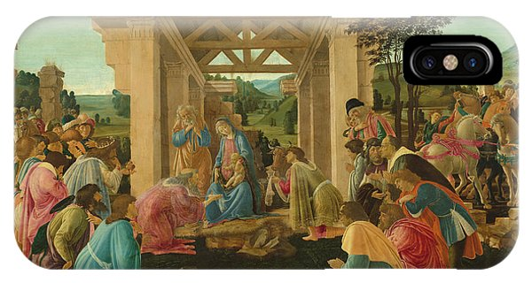 Botticelli iPhone Case - The Adoration Of The Magi by Sandro Botticelli