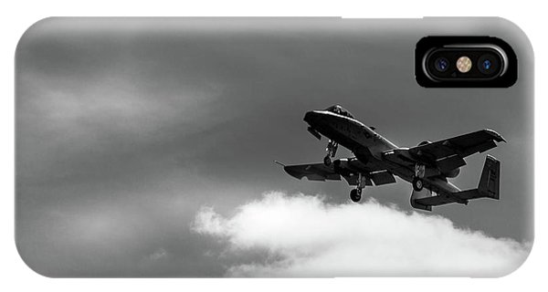IPhone Case featuring the photograph A-10 Slow Pass by Doug Camara