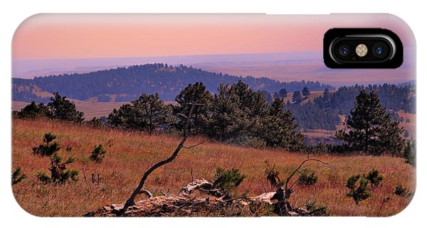 Autumn Day At Custer State Park South Dakota IPhone Case