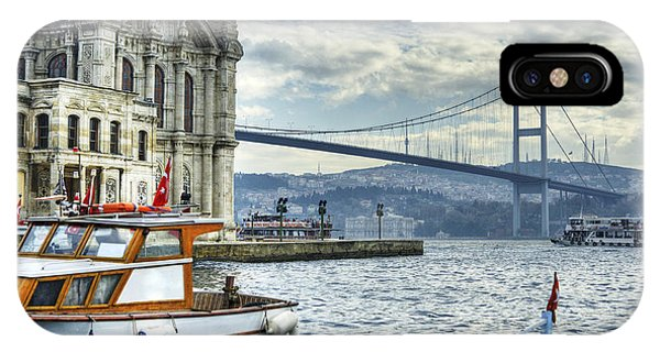 A Beautiful View Of Ortakoy Mosque And Phone Case by Senai Aksoy