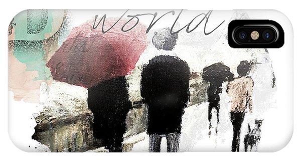 Purple Rain iPhone Case - A Beautiful World Part1 by Tim Palmer