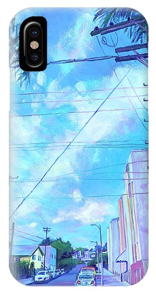 A Blue Day IPhone Case