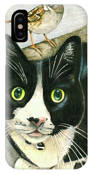 A Cat Named Sparrow IPhone Case