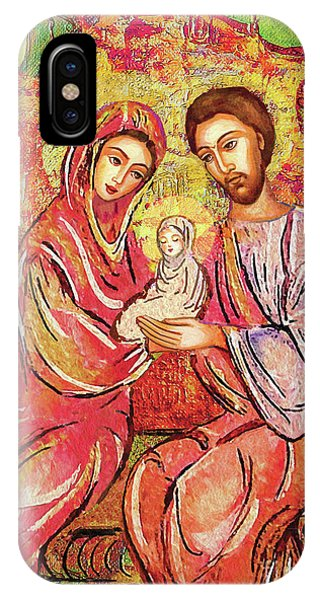 Divine Love iPhone Case - A Child Is Born by Eva Campbell