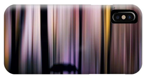 Purple Rain iPhone Case - A Colorful Walk by Tim Palmer